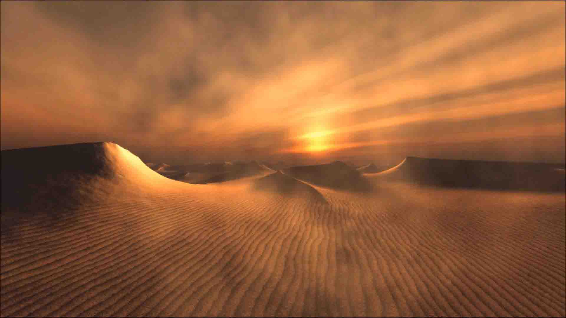 Sandstorm-sandmoutain